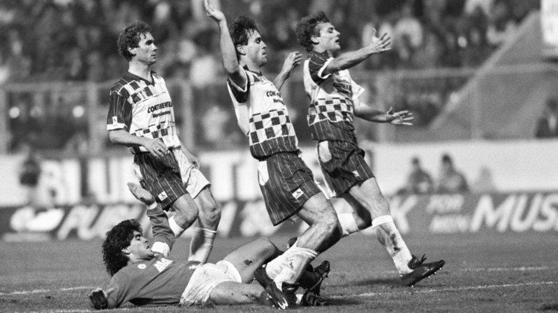 «L'un des plus grands moments de ma carrière», selon Martin Rueda, qui a eu la chance d'affronter Diego Maradona