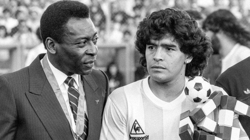 Stéphane Henchoz et Bernard Challandes rendent hommage à Diego Maradona