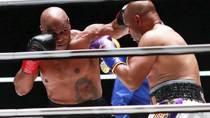 Boxe: Mike Tyson réussit son retour sur le ring à 54 ans malgré un nul