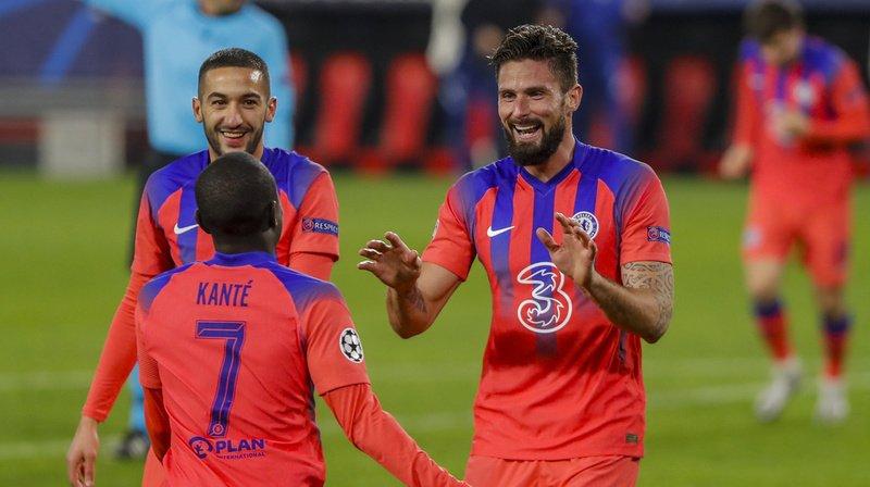 Football - Ligue des Champions: Paris bat Manchester, Giroud est le héros de Chelsea