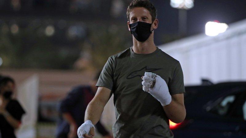 Romain Grosjean a disputé son dernier GP dimanche dernier à Sakhir, où il a été victime d'un spectaculaire accident.