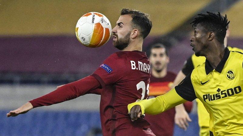 Football - Europa League: Young Boys ne passe pas le cap de l'AS Rome