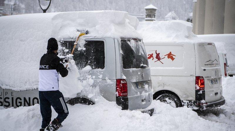 Ski alpin: le Super-G dames de St-Moritz annulé en raison des conditions climatiques