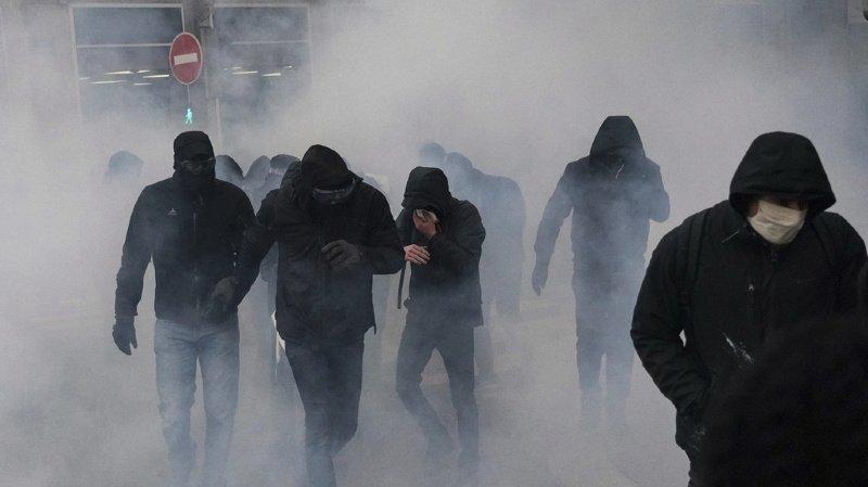 Paris: incidents et interpellations en marge d'une manifestation