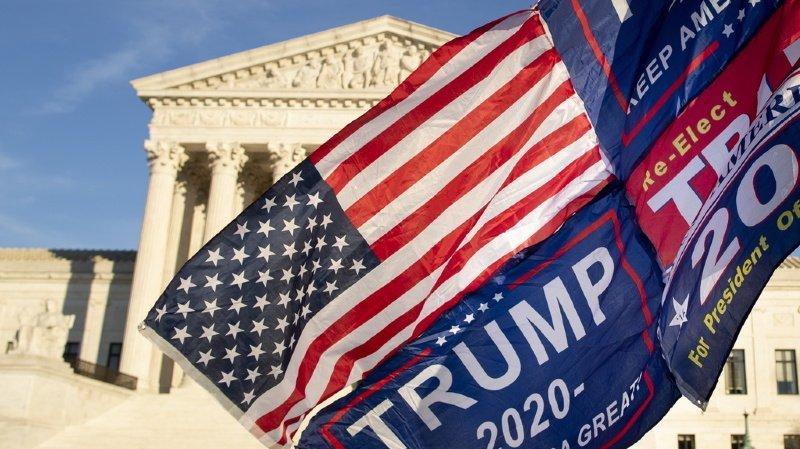 Présidentielle américaine: nouveau revers pour Trump à la Cour suprême