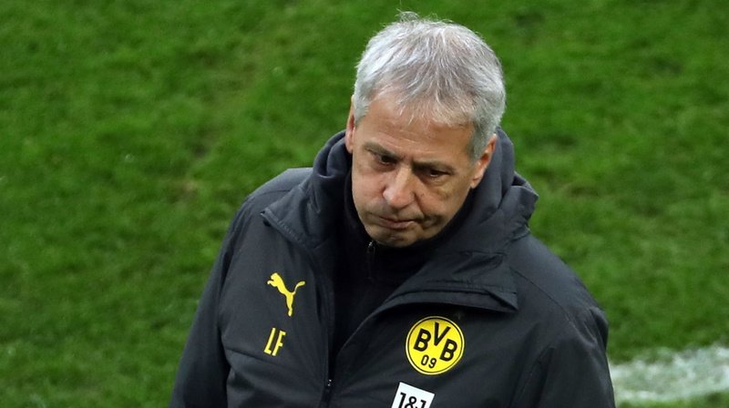 Football: l'entraîneur vaudois Lucien Favre limogé par le Borussia Dortmund