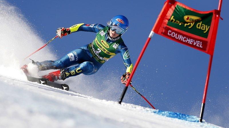 Ski alpin: Mikael Shiffrin remporte le géant de Courchevel, Gisin au pied du podium