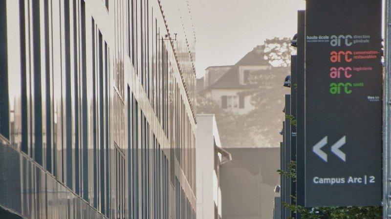 La Haute Ecole Arc à Neuchâtel.