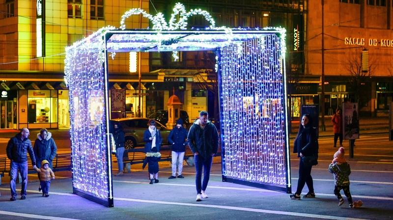 Deux cadeaux géants pour illuminer La Chaux-de-Fonds