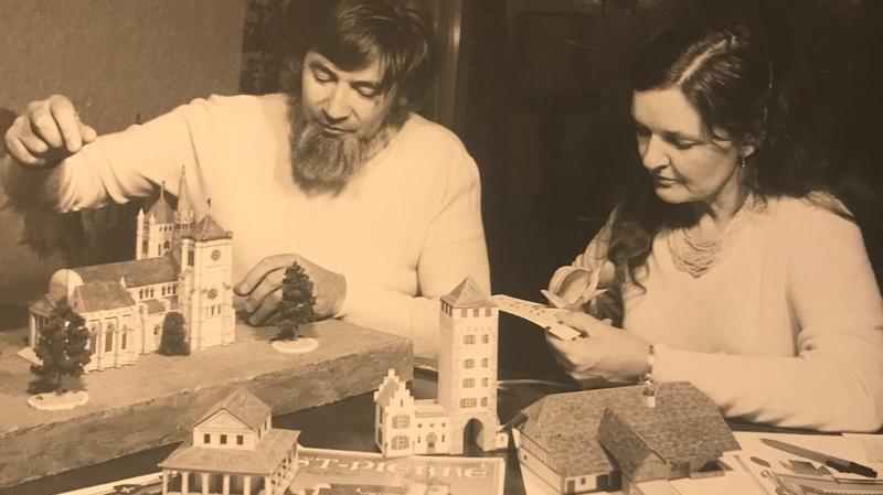 Le bâtisseur de châteaux et éditeur Alexandre Gisiger nous a quittés