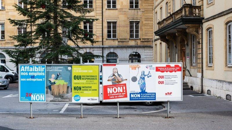 Neuchâtel accepte l'initiative pour des multinationales responsables