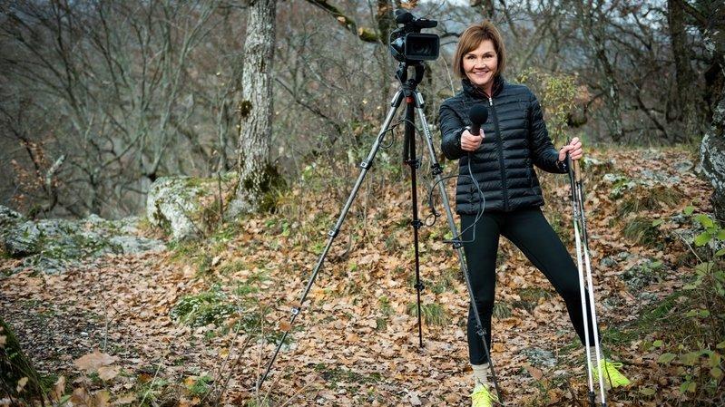 Sport, Nifff et journalisme: l'équilibre selon la Neuchâteloise Nathalie Randin