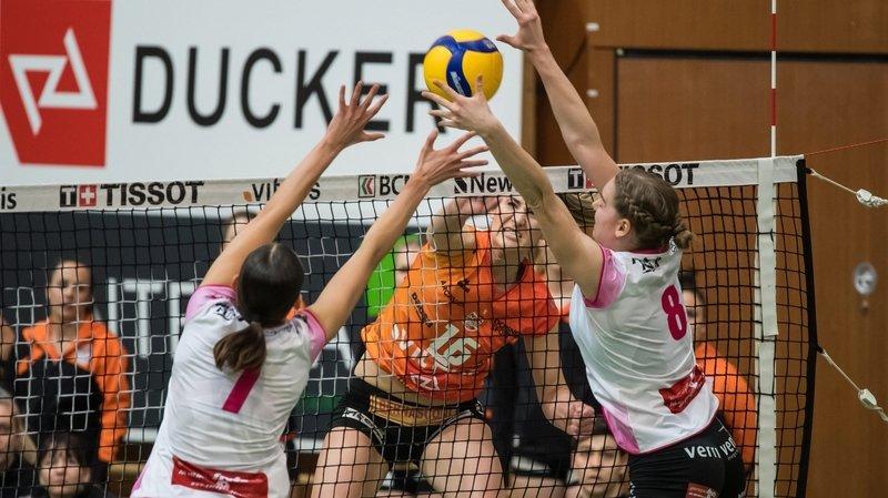 Volleyball: sans public, le derby NUC – Valtra perd de sa superbe