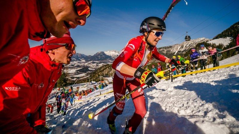 Ski alpinisme: Marianne Fatton en piste pour une confirmation