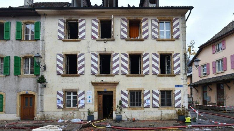 Incendie de Cressier: la personne hospitalisée est décédée