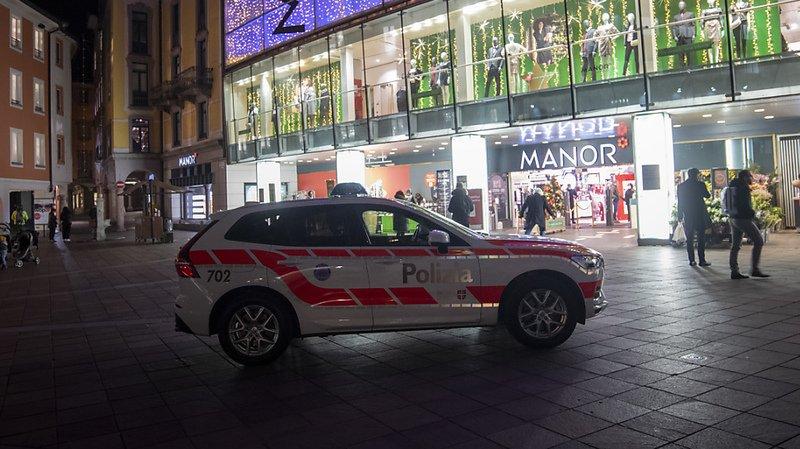 Attaque au couteau dans un magasin à Lugano, acte terroriste pas exclu