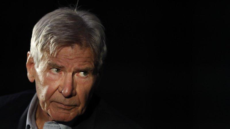 """Harrison Ford avait endossé le rôle d'Indiana Jones dans """"Les Aventuriers de l'Arche perdue"""", sous la houlette du réalisateur Steven Spielberg, en 1981 (archives)."""
