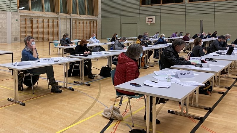 Le Conseil général de Val-de-Travers valide tout juste le budget 2021