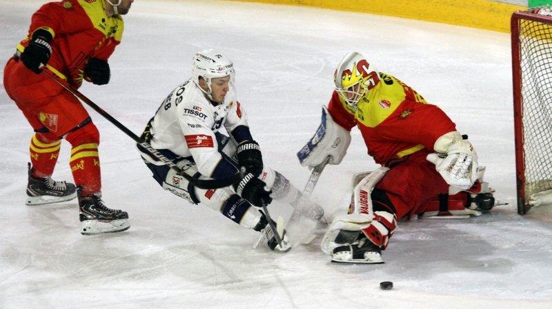 Hockey sur glace: sans Trettenes, le HCC facilite trop la vie à Sierre
