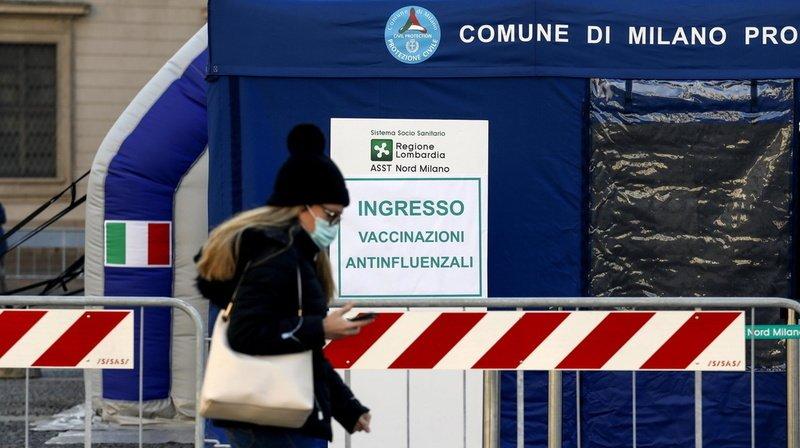 Le gouvernement italien craint une troisième vague après les fêtes si des mesures rigoureuses ne sont pas prises.
