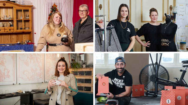 Calendriers, marchés: quatre Neuchâtelois réinventent l'esprit de Noël au temps du Covid-19
