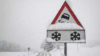 Alertes pour fortes chutes de neige dès vendredi