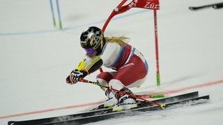 Ski alpin : Lara Gut-Behrami termine troisième de la course parallèle de Lech, en Autriche