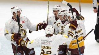 Hockey sur glace – National League: Genève s'impose à Lausanne et Zoug prend sa revanche sur Bern