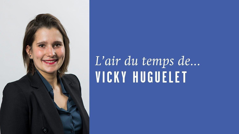 «Youpi, des bonnes nouvelles!», l'Air du temps de Vicky Huguelet