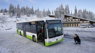 De Cernier à La Vue-des-Alpes à bord du Nordic'Bus