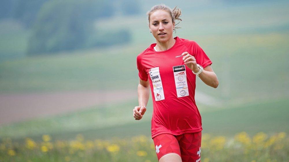 En 2021, Loanne Duvoisin défendra son titre mondial chez les moins de 23 ans.