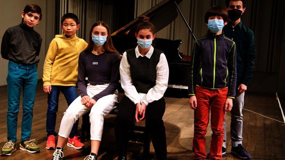 Même online et masqué, le festival représente une grande aventure pour les jeunes pianistes du Conservatoire de musique neuchâtelois.