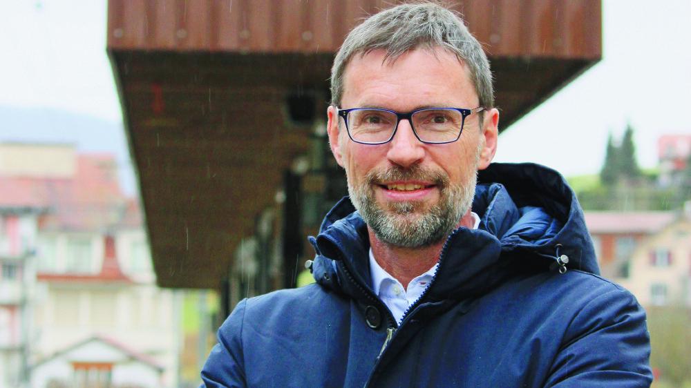 Jean-Frédéric Python prendra la tête de l'entreprise de transports jurassienne le 1er juin 2021.