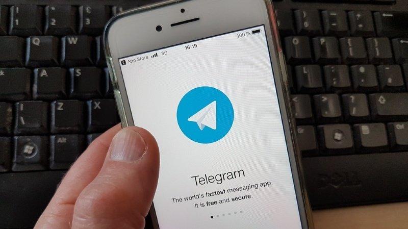 D'origine russe, l'application Telegram est aussi très populaire en Suisse (illustration).