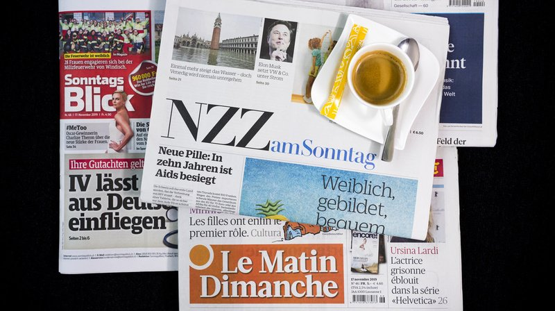 Revue de presse: salaires en baisse, endettement national et négociations salariales aux CFF... les titres de ce dimanche