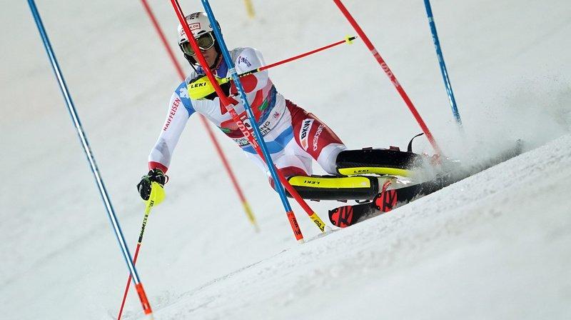 Ski alpin: Zenhäusern 9e et meilleur Suisse du slalom de Zagreb, Strasser vainqueur-surprise