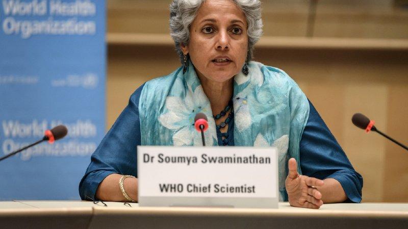 """Mme Swaminathan a assuré qu'à terme, """"les vaccins vont arriver, dans tous les pays""""."""