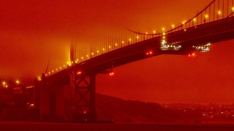 Le 9 septembre, San Francisco et d'autres régions de l'Ouest américain se réveillent sous un ciel orange digne d'une scène d'apocalypse, dû aux incendies qui ravagent la Californie.