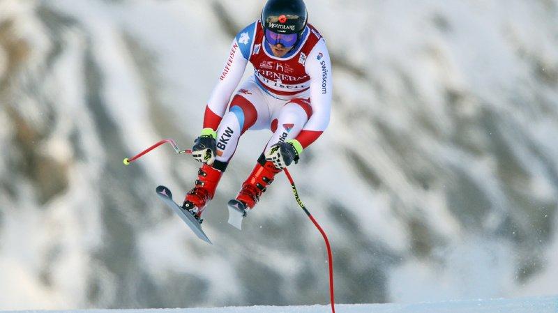 Ski alpin: Mauro Caviezel termine 2e du super-G de Val Gardena