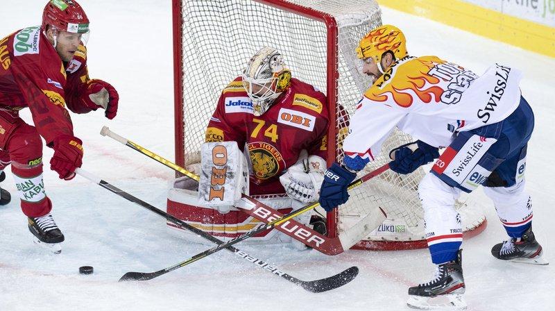 Hockey sur glace: Zurich bat Langnau et reprend la tête du classement