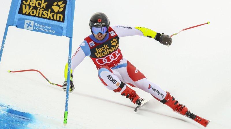 Ski alpin: Ryan Cochran-Siegle s'impose au Super-G de Bormio, Mauro Caviezel 5e