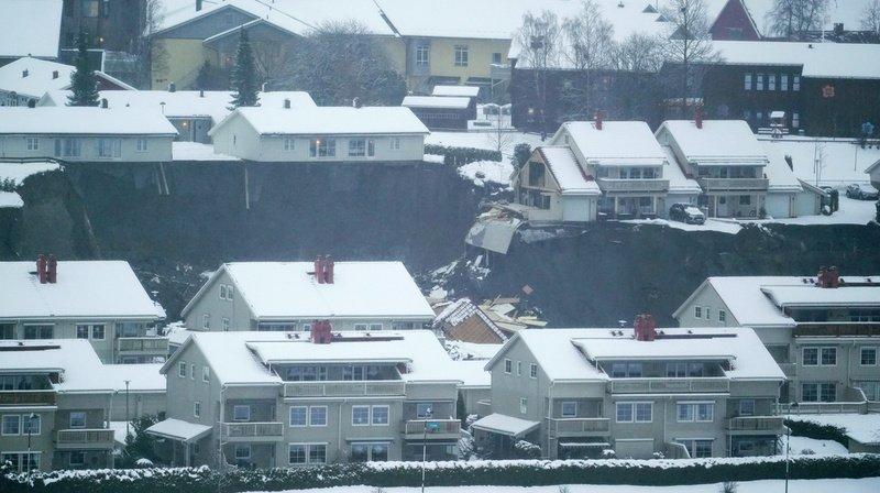 Glissement de terrain en Norvège: 10 blessés et 12 disparus