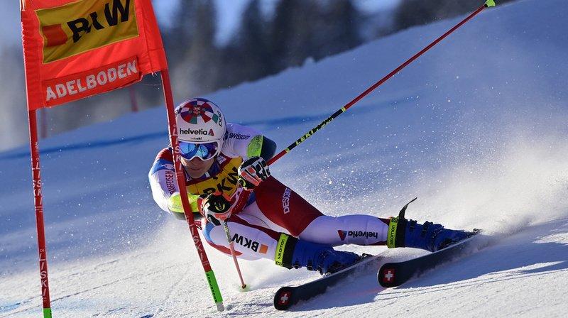 Marco Odermatt offre à la Suisse son premier podium dans la discipline à Adelboden depuis 2008.