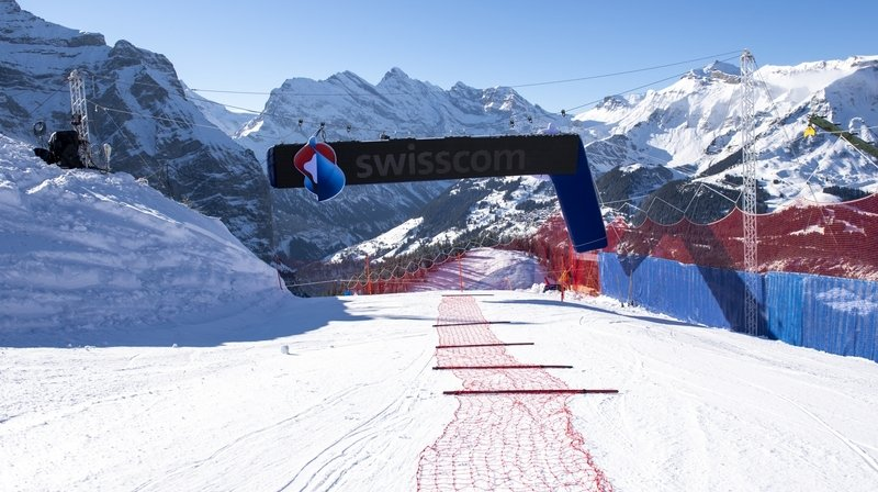 Ski alpin: feu vert pour les courses du Lauberhorn qui se dérouleront finalement comme prévu, sans public