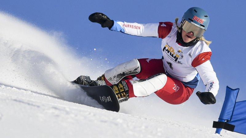 Snowboard – Mondiaux de Scuol: Julie Zogg prend la 3e place