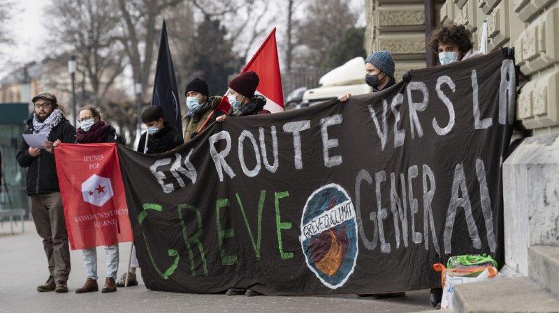 Référendum contre la loi sur le CO2: la Grève du Climat recueille 7000 signatures