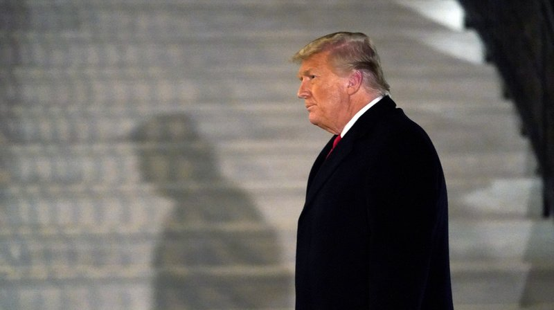 """Nancy Pelosi a fait de Trump  le premier président américain à subir l'infamie d'un deuxième """"impeachment""""."""