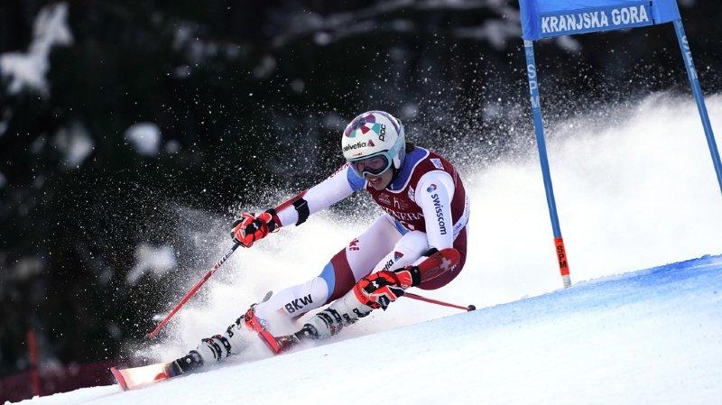 Ski alpin: Gisin 2e après la 1re manche du géant de Kranjska Gora