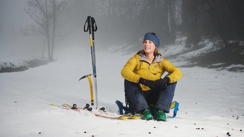 Christelle Marceau, première guide de montagne neuchâteloise