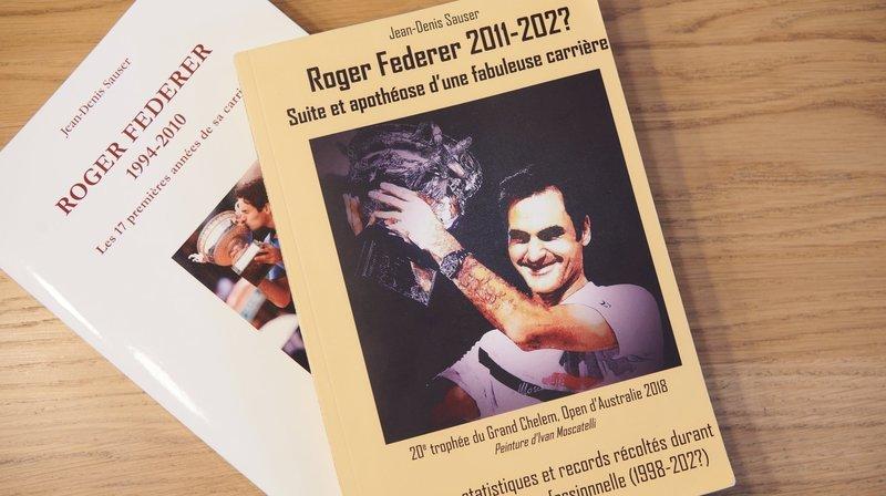 Rochefort: Il dédie un livre au palmarès de «Rodgeur» Federer